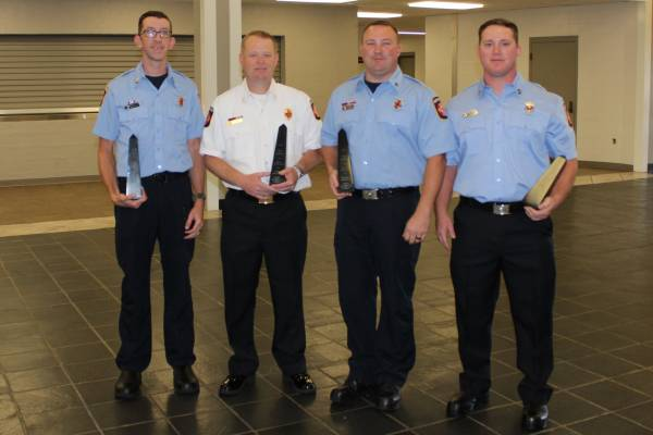 Dothan Firefighters Honored Today at City Commission Meeting