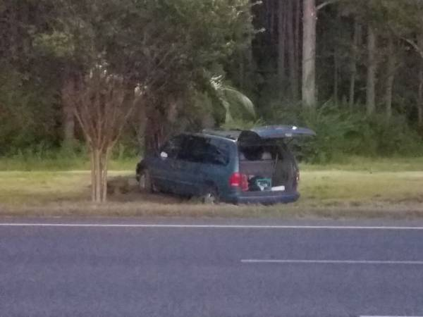 Updated Motor Vehicle Accident US 231 just South of the Florida Line