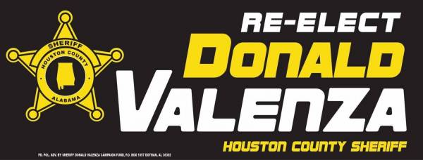 Donald Valenza In His 40th Year With Houston County Sheriff Department