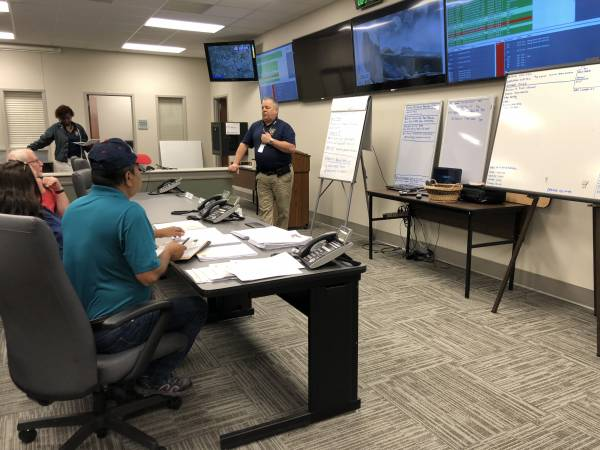 Alabama Emergency Management Director Brian Hastings In Dothan-Houston County