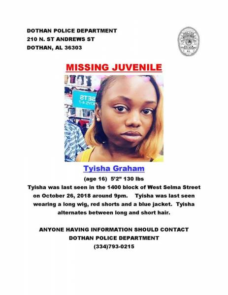 Missing Person in Dothan