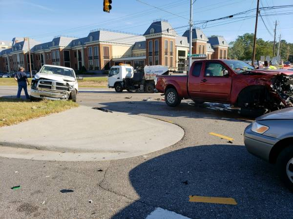 9:15 AM.. Motor Vehicle Accident at the Circle and Fortner