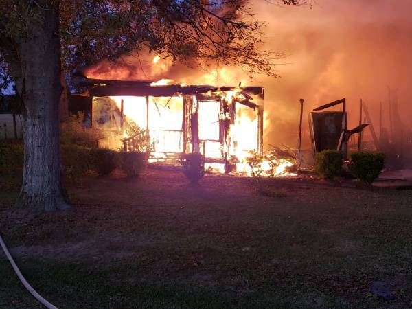 UPDATED at 7:05 AM.    Webb Structure Fire HAPPENING NOW