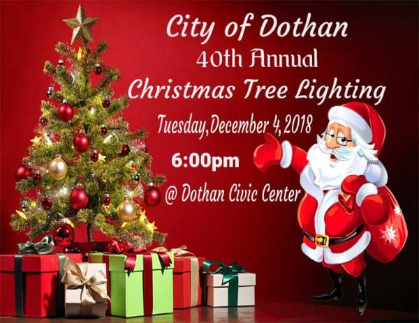 40th Annual Dothan Christmas Tree Lighting
