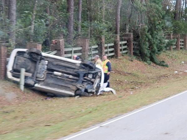 3:31 PM... Vehicle Overturned on South Park