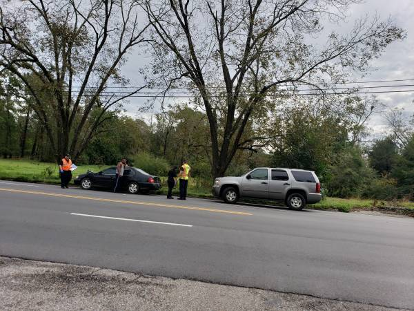9:04 AM... Minor Motor Vehicle Accident at South Oates and Alice