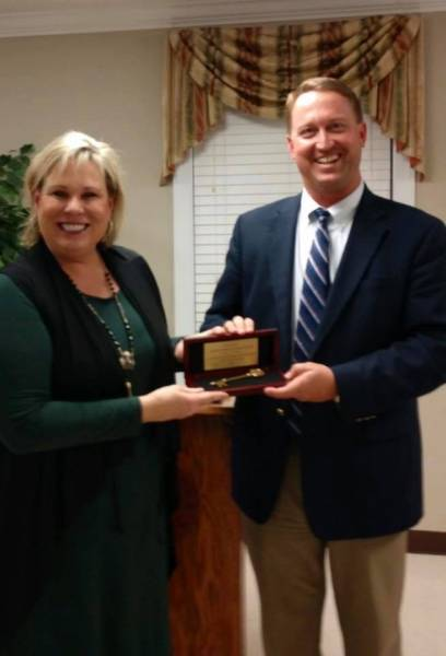 City of Slocomb Thanks Senator Harri Anne Smith