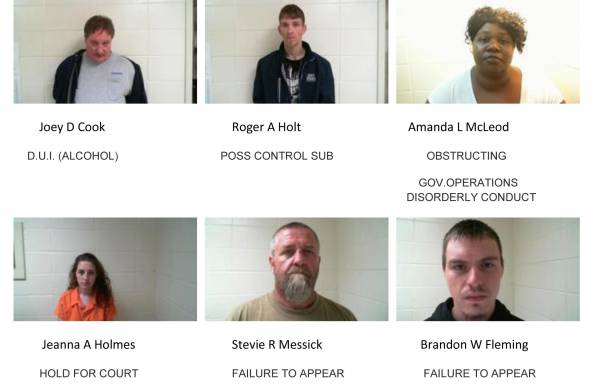 Dale County Sheriff's Mugshots for 11-14-2018