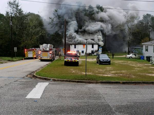8:48 AM    Structure Fire on Lake Street in Dothan