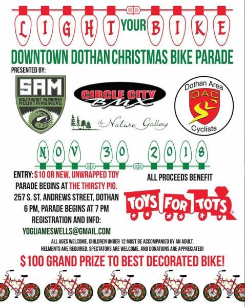 Downtown Dothan Christmas Parade INFO