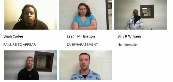 Dale County Sheriff's Office Mugshots for 12/06/2018