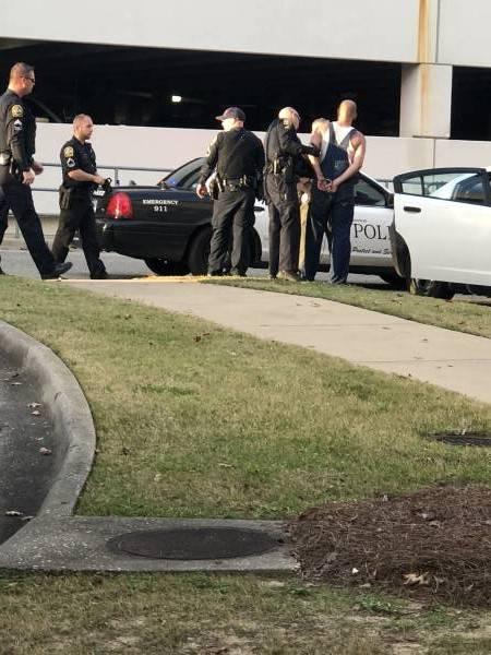 Afternoon Struggle At Dothan Hospital From Reported Thief At Hospital