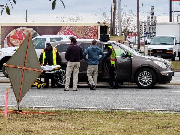 10:34 AM... Motor Vehicle Accident at West Main and the Circle