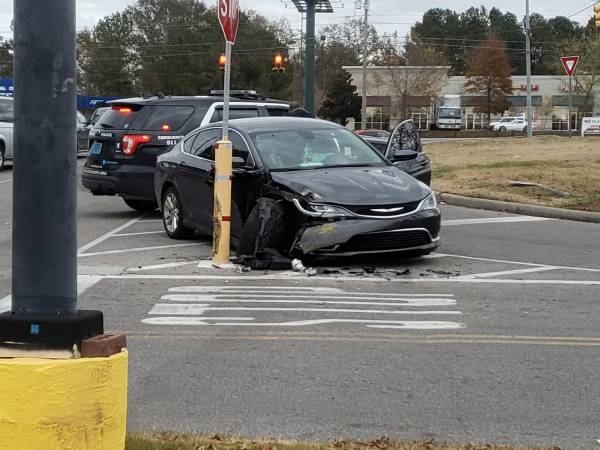 2:50 PM....  Motor Vehicle Accident in Wal-Mart Parking Lot