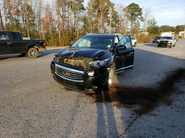 Motor Vehicle Accident on US 84 at Broad Street in Cowarts