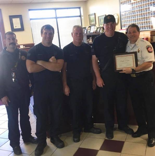 CAPTAIN Shane Lee - Dothan Fire - 25 Years Of Service
