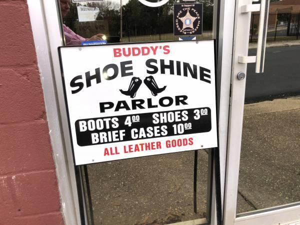 Buddy's Shoe Shine Has New Location