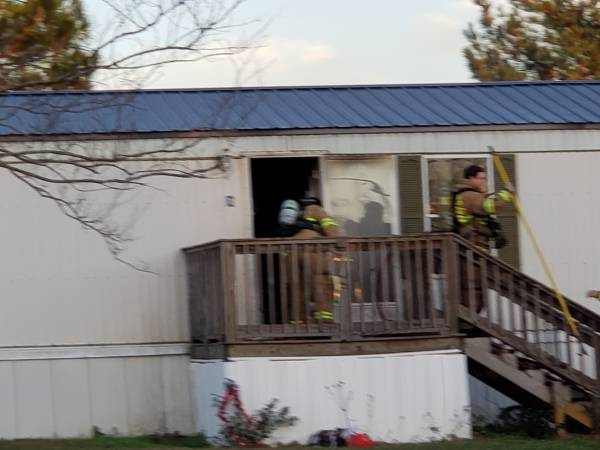 4:15 PM... Structure Fire in the 1000 Block of Hubbard Road