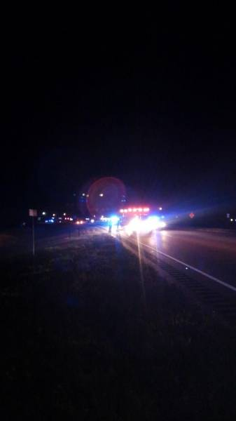 DECEASED IDENTIFIED.  12:25 AM... Person Struck on US 84 and Hwy 123
