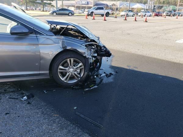 9:03 AM...Motor Vehicle Accident at Hartford Hwy and the Circle