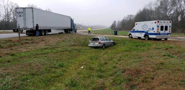8:29 AM... Motor Vehicle Accident in the 11700 Block of US 231