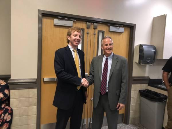 John John Steensland Takes Oath AS Circuit Court Judge