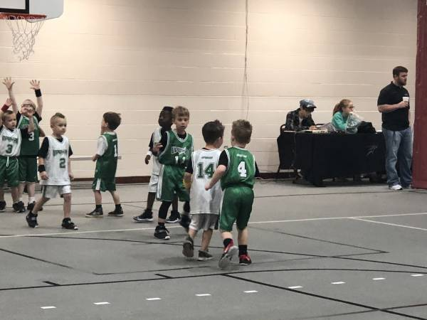 UPWARD BASKETBALL - A Time For Fun But A Time For Witness