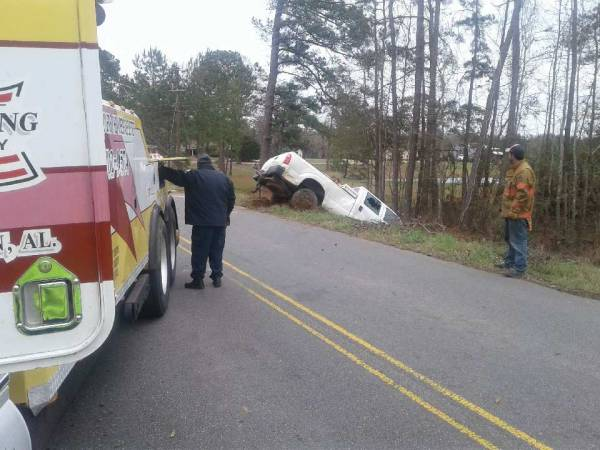 County Road 33 Motor Vehicle Accident