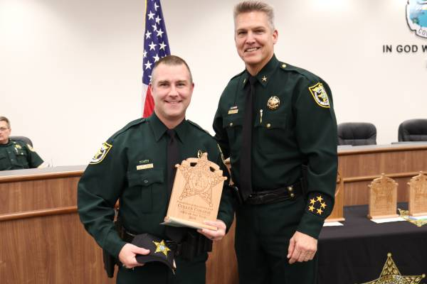 Okaloosa County Sheriff School Resource Officer of the Year