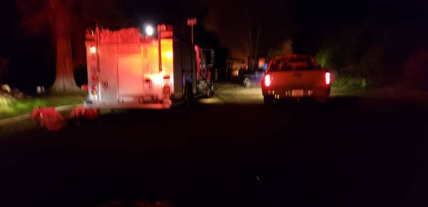 UPDATED at 7:15 PM.   Structure Fire In Webb
