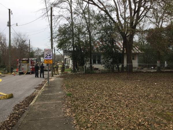 12:54 PM. South College Street Structure Fire