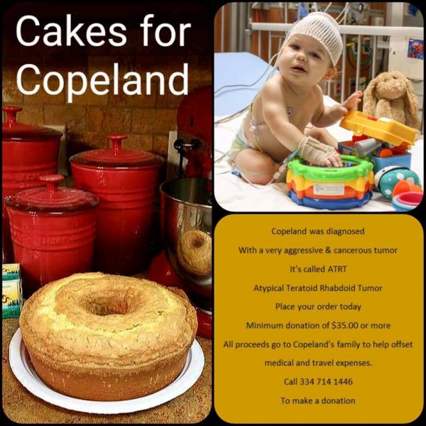 CAKES FOR COPELAND  WITHOUT A SENSE OF CARING THERE CAN BE NO SENSE OF COMMUNITY