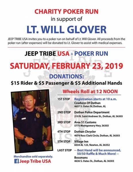 Charity Poker Run Set for February 23