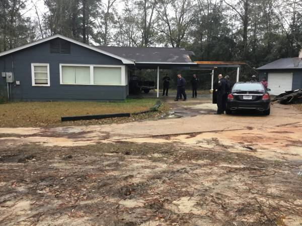 Sherwood Drive In Dothan Domestic - Man Drives Truck Into Home