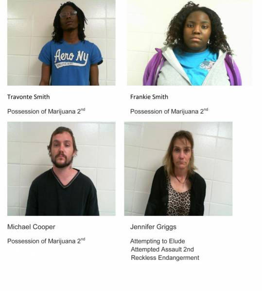 Dale County Sheriff's Office Mugshots for 2/2/2019
