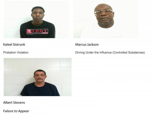 Dale County Sheriff's Office Mugshots for