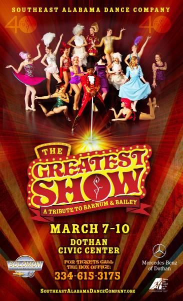 Southeast Alabama Dance Company to Host the Greatest Show on Earth