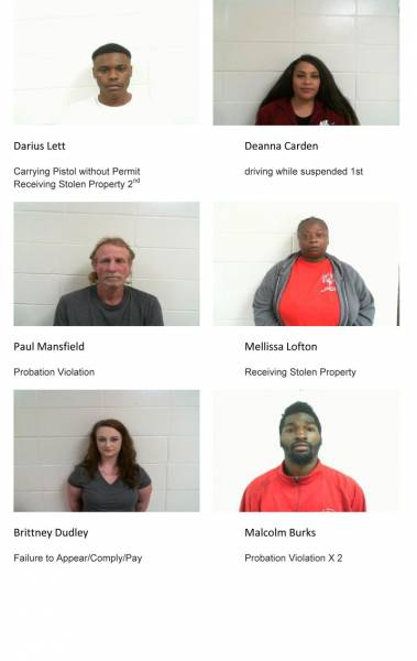 Dale County Sheriff's Office Mugshots for 2/8/2019