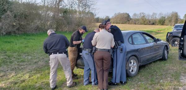 UPDATED @ 4:03 PM.    3:00 PM... High Speed Chase in Ashford