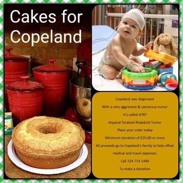 Cakes For Copeland  UPDATE