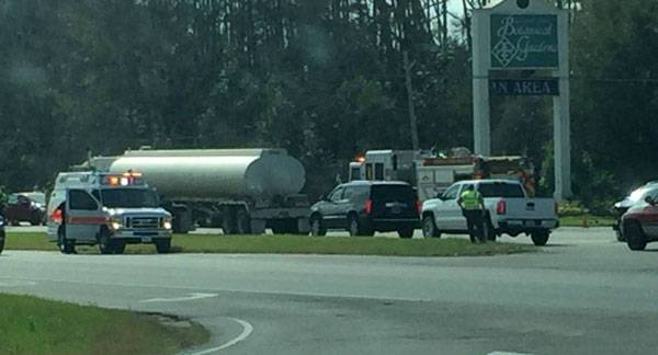 1:32 PM... T-Bone Accident on US 431 at Buds & Blossoms