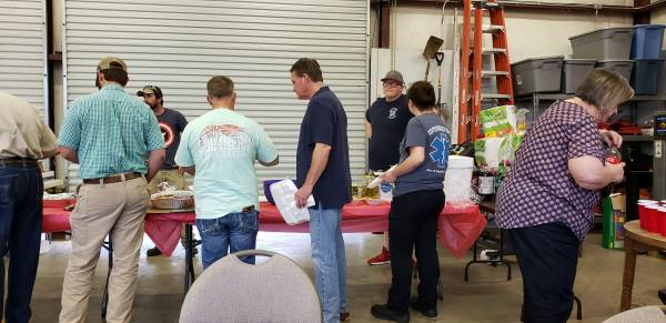 Lovetown Fire Department Host Get Together for County Fire Chiefs and their Wives