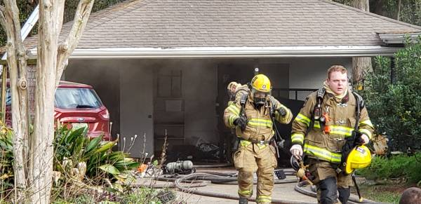 3:01 PM... Outdoor Fire Turned Structure Fire on Westchester Drive