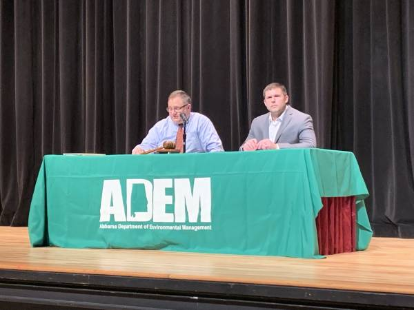 ADEM Holds Public Hearing On Proposed Landfill