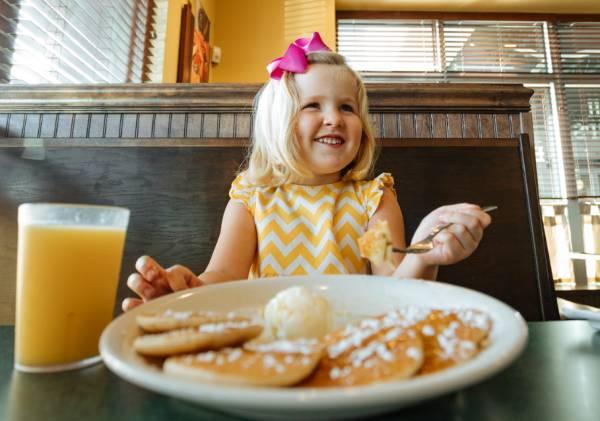FREE Kids Pancakes on National Pancake Day