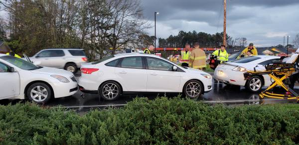 5:20 PM... Motor Vehicle Accident on South Oates in Front of Auto Zone