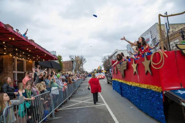 Mardi Gras Parade in Dothan