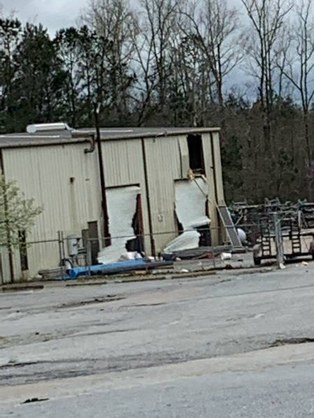I-85 Damage In Georgia