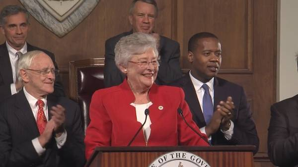 Alabama Governor Kay Ivey Asks For Fuel For The Ship She Has Steadied - State of State Speech 2019