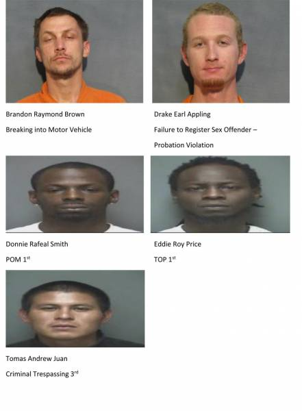 Mugshots of the Day 3/7/19